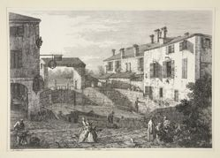 Le Porte del Dolo (The Locks of Dolo), from the series Vedute (Views)