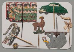 Shadow Puppet (Wayang Kulit) of Elephant or Gajah, from set Wayang Perjuangan or Wayang Revolusi