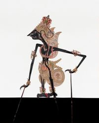 Shadow Puppet (Wayang Kulit) of Kresna, from the consecrated set Kyai Nugroho