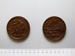 Restrike Medal of Daniel Morgan and the Battle of Cowpens