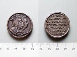 Silver Medal of Ferdinand I and Charles V