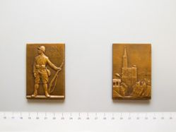 Medal of Strasbourg and the Return of Alsace from France