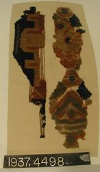 Fragment of wool tapestry