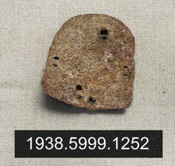 Horse armor fragment