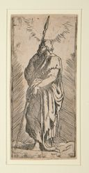 Saint Thomas, from the series Christ and the Twelve Apostles