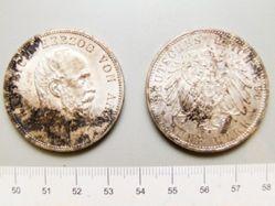 5 Mark of Friedrich II from Anhalt-Dessau