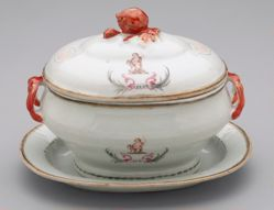 Tureen with Lid and Platter