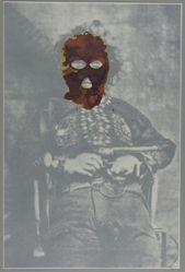 Bloody Bill Anderson Balaclava, 2006, from the Exit Art portfolio Trance/Borders