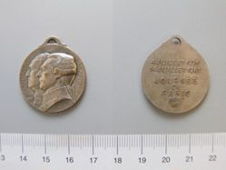 Medal of Washington and Lafayette Commemorating American and French Independence