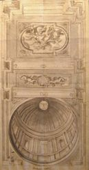Design for a Church Cupola and Ceiling with Scene of the Assumption