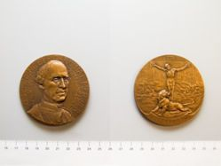 Belgian Medal of Cardinal Mercier and the Resurrection