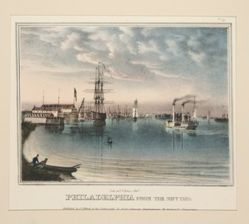 Philadelphia from the Navy Yard from Views of Philadelphia and Its Vicinity