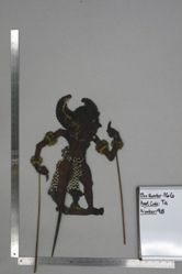 Shadow Puppet (Wayang Kulit) of Kesari or Bima Sena