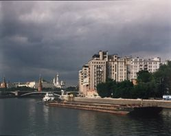 The Houses on th River, Moscow