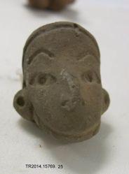Monkey head fragment