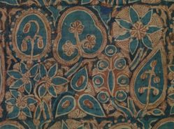 Indian Trade Cloth with Flowering Trees