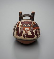 Vessel with Supernatural Monkey