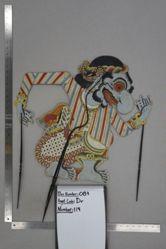 Shadow Puppet (Wayang Kulit) of Buta Terong, from the set Kyai Drajat