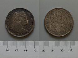 Silver Halfcrown of George III