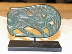 Belt Plaque with Antlered Deer