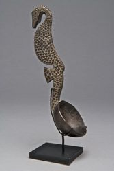 Spoon with a Handle in the Shape of a Seahorse