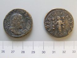 Sestertius of Postumus, Emperor of the Gallic Empire from Lugdunum