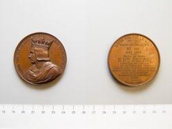 Bronze medal of Louis VIII Roi