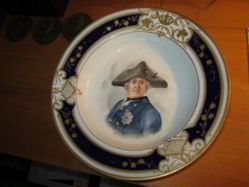 Plate with Frederick the Great