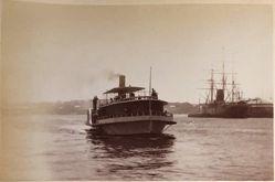 North Shore Ferry, Circular Quay, Sydney, from the album [Sydney, Australia]