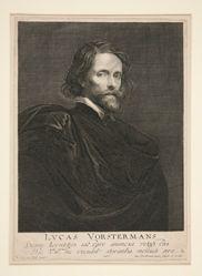 Portrait of Lucas Vorsterman, the Elder