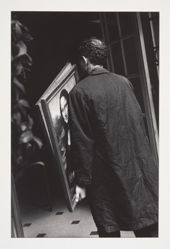 Untitled (Man with Mona Lisa) 1972, from the portfoliio Chiaroscuro, 1982