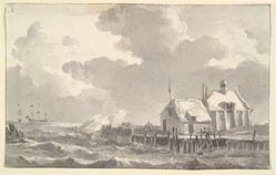 An Estuary in a Storm