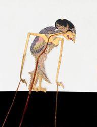 Shadow Puppet (Wayang Kulit) of Arimbi, from the consecrated set Kyai Nugroho