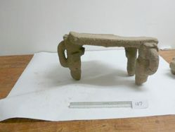 Metate or mortar