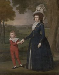 Laura Wolcott Moseley and Charles Moseley (1761–1814; 1786–1815)