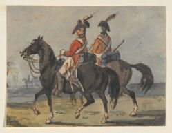 Two Members of Royal Horse Guard