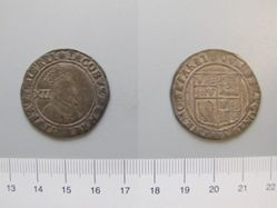 Silver shilling of James I from London