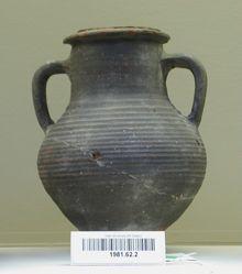 Brittle Ware Jar