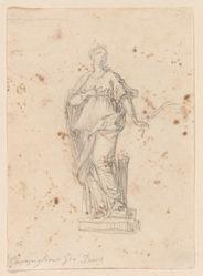 Statue of a Female Saint