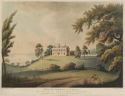 Mount Vernon in Virginia / The Seat of the late Lieu.t General George Washington