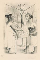 Lavanderas Mayas (Mayan Launderers), from Mayan Women of the Yucantán