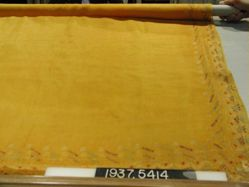 Veil of tie-dyed silk
