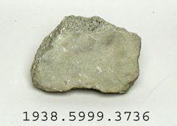 Large flat stone fragment