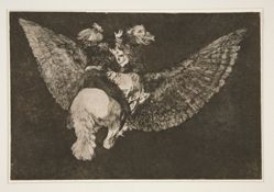 Disparate volante (Flying folly), Plate 5 from Los Proverbios