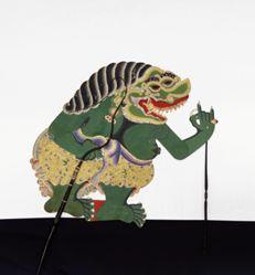 Shadow Puppet (Wayang Kulit) of Buto Kimpul, from the consecrated set Kyai Nugroho