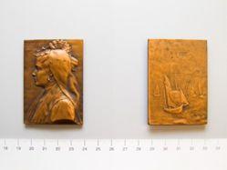 Bronze Plaque Olonnaise