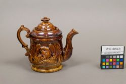 Teapot (with eagle design)