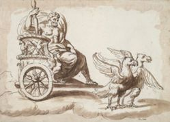 Jupiter in a Chariot Drawn by Eagles