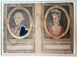 His Excellency George Washington and Lady Washington