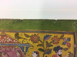 Yashoda fanning Balarama, page from a Bhagavata Purana